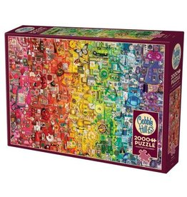 Cobble Hill Rainbow 2000pc Puzzle