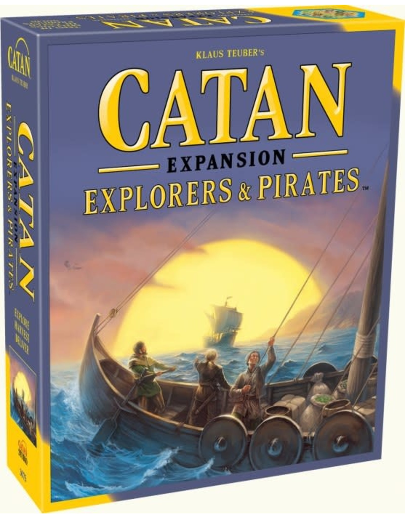 Settlers of Catan Expansion: Explorers and Pirates