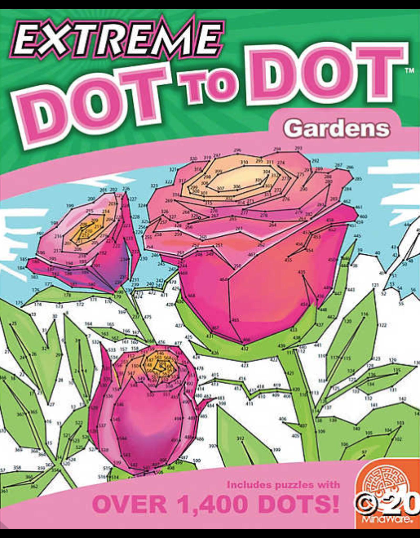 Mindware Extreme Dot to Dot: Gardens
