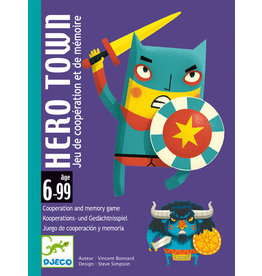 Djeco Hero Town Card Game