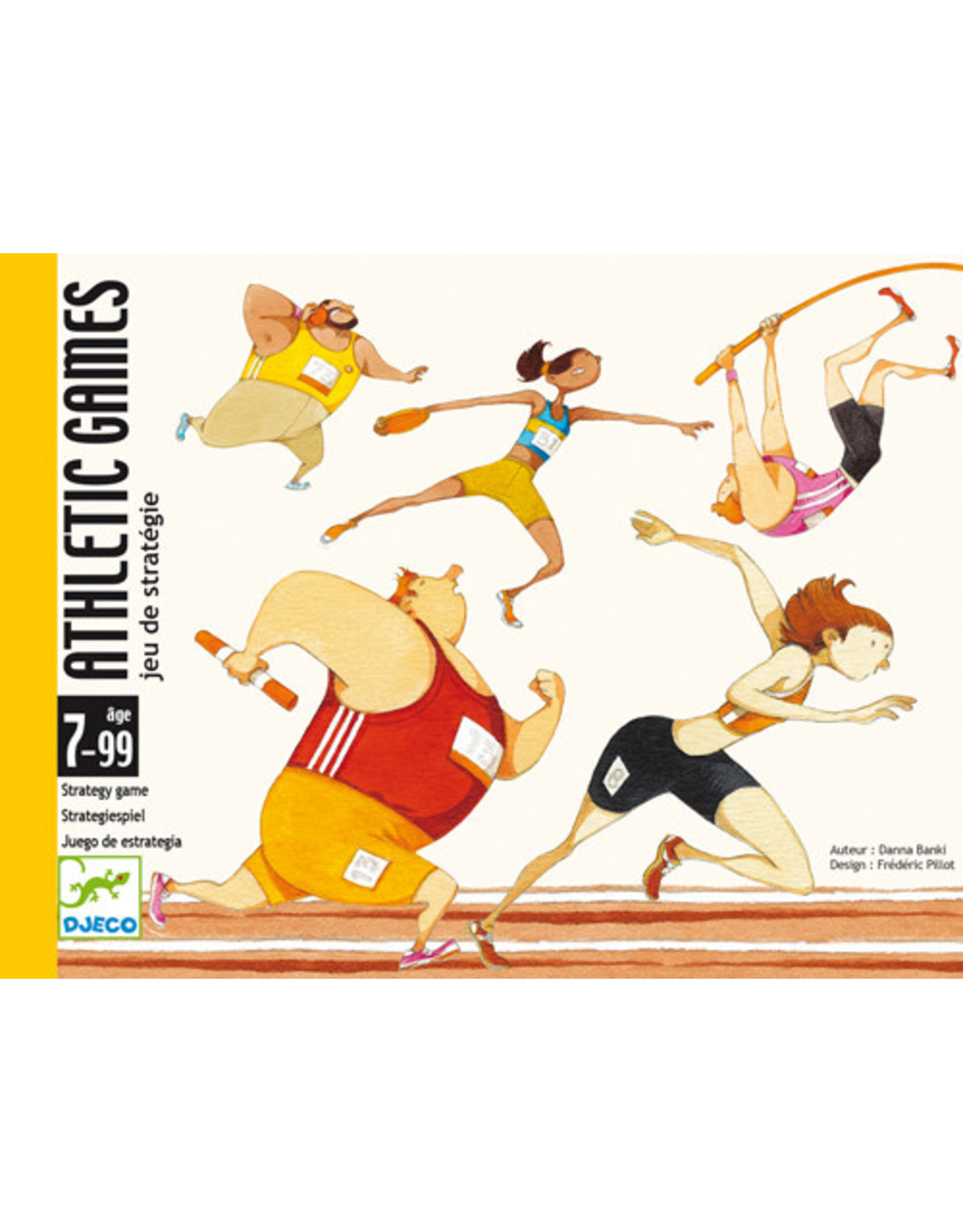 Djeco Athletic Games Card Game