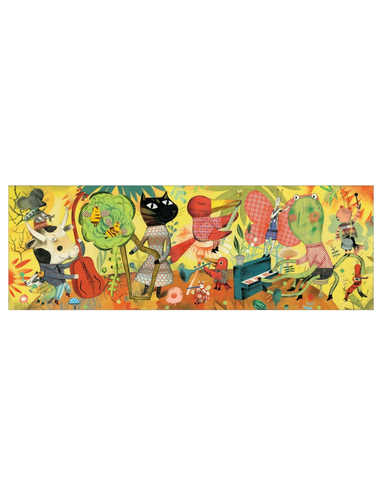 Djeco Bluegrass Band 200pc Puzzle