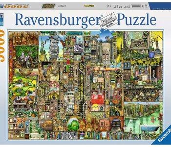 Colin Thompson: Bizarre Town 5000pc Puzzle