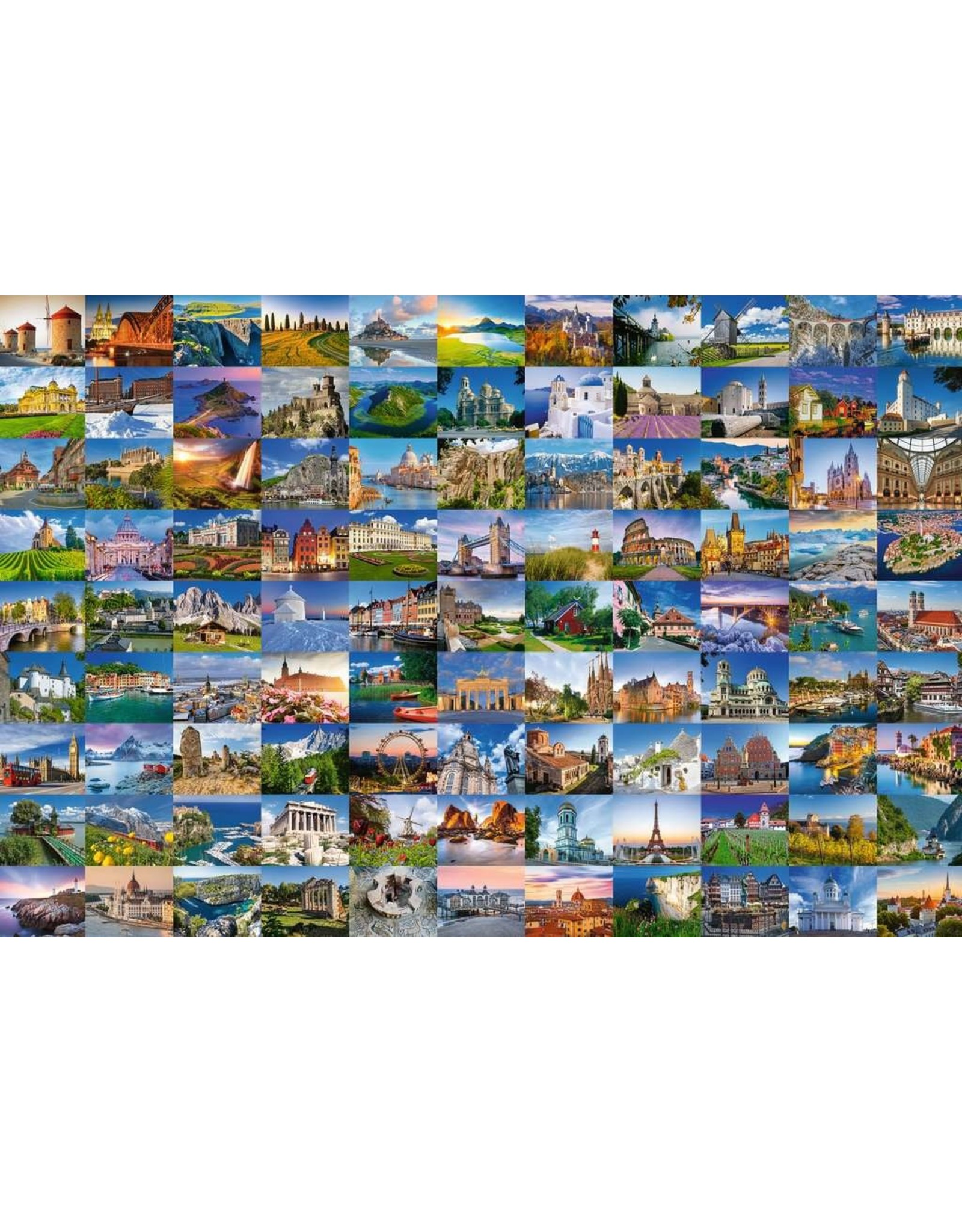 Ravensburger 99 Beautiful Places of Europe 3000pc Puzzle
