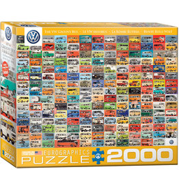 Eurographics The VW Groovy Bus 2000pc Puzzle