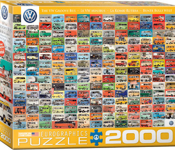 The VW Groovy Bus 2000pc Puzzle