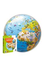 Caly Inflatable World Globe Animals 30cm