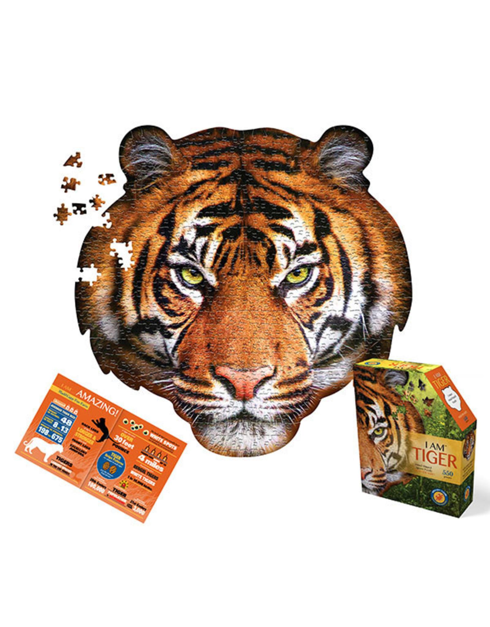 Madd Capp I am Tiger 550pc Shaped Puzzle