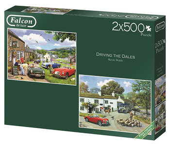 Driving in the Dales 2 x 500pc Puzzles