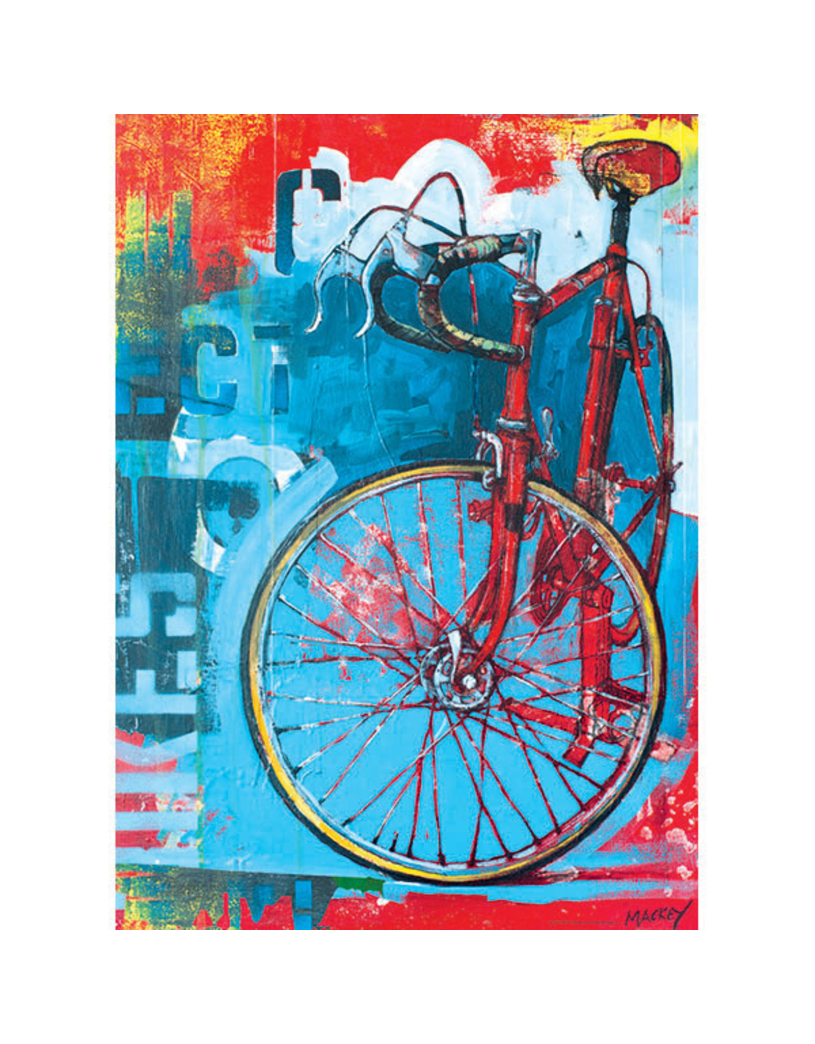 Heye Red Limited Bicycle 1000pc Puzzle