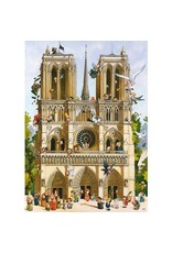 Heye Vive Notre Dame Cathedral 1000pc Puzzle
