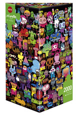 Heye Hi There! by Burgerman 2000pc Puzzle