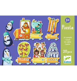 Djeco Puzzle Duo: I Count Puzzles
