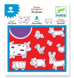 Djeco Farm Stamps Set