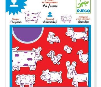 Farm Stamps Set