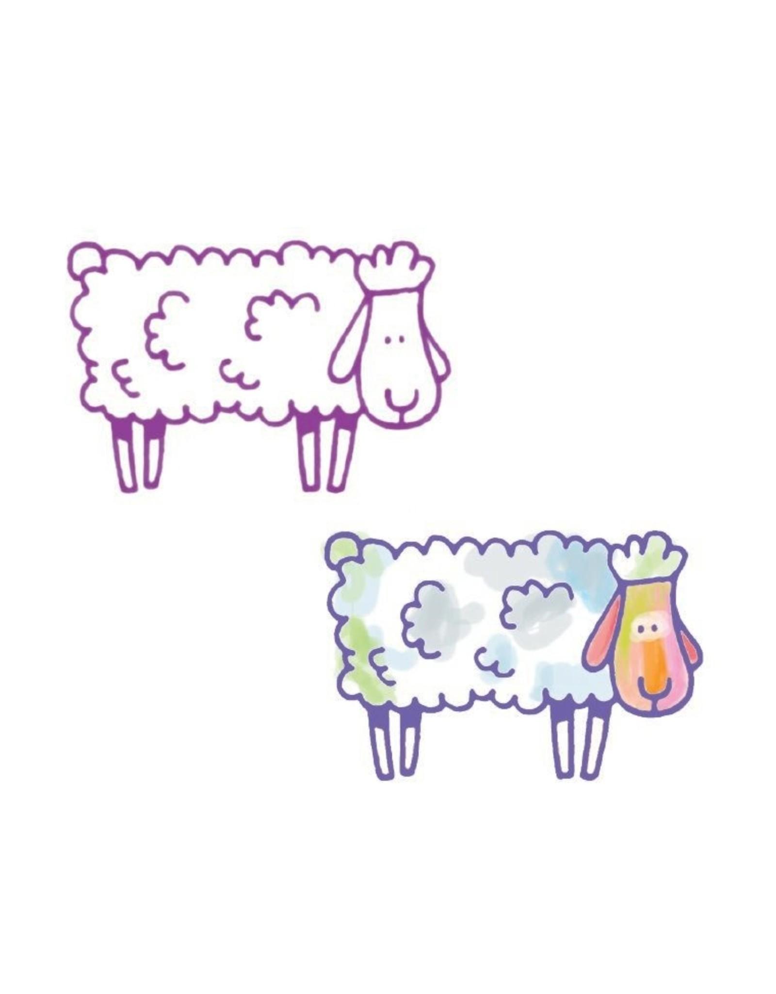 Djeco Farm Stamps Set