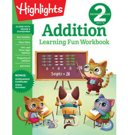 Highlights Highlights Second Grade Addition