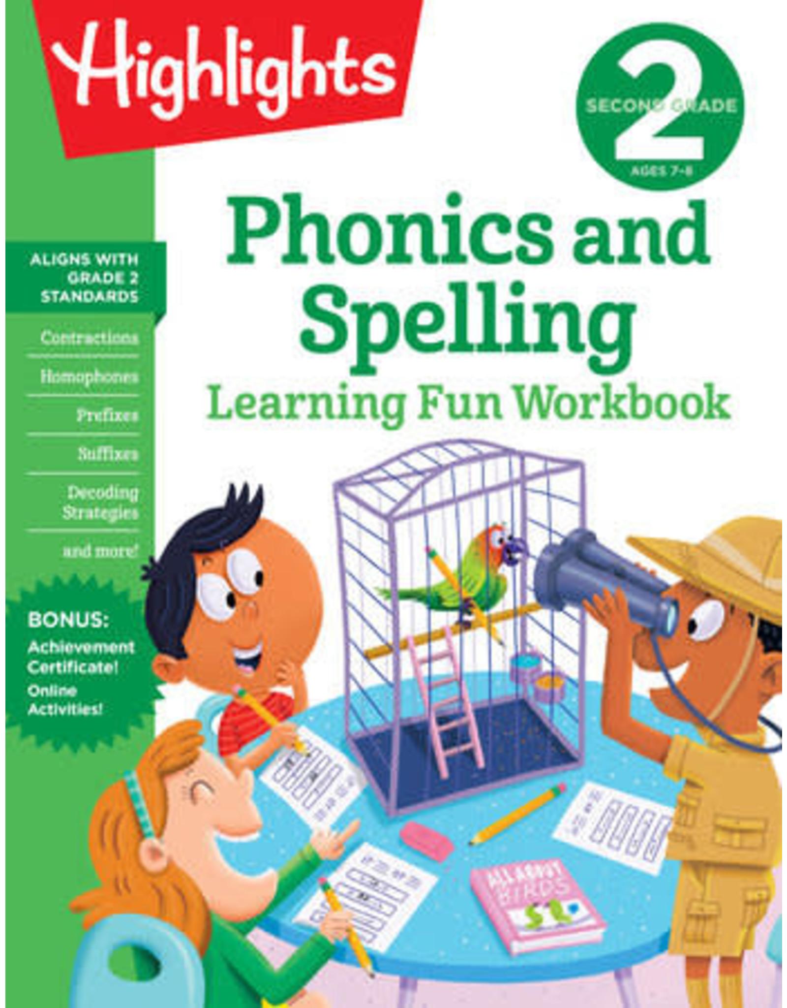 Highlights Highlights Second Grade Phonics & Spelling