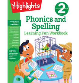 Highlights Highlights Second Grade Phonics & Spelling