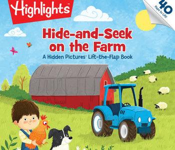 Hide and Seek on the Farm Board Book