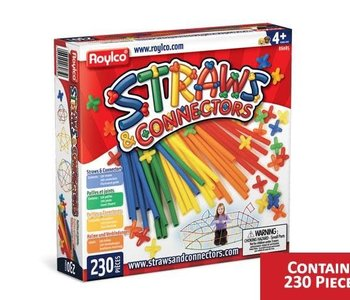 Straws & Connectors 230pc