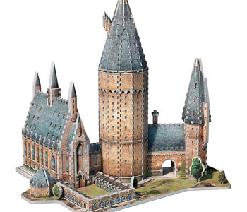 Wrebbit Hogwarts Great Hall 3D Puzzle