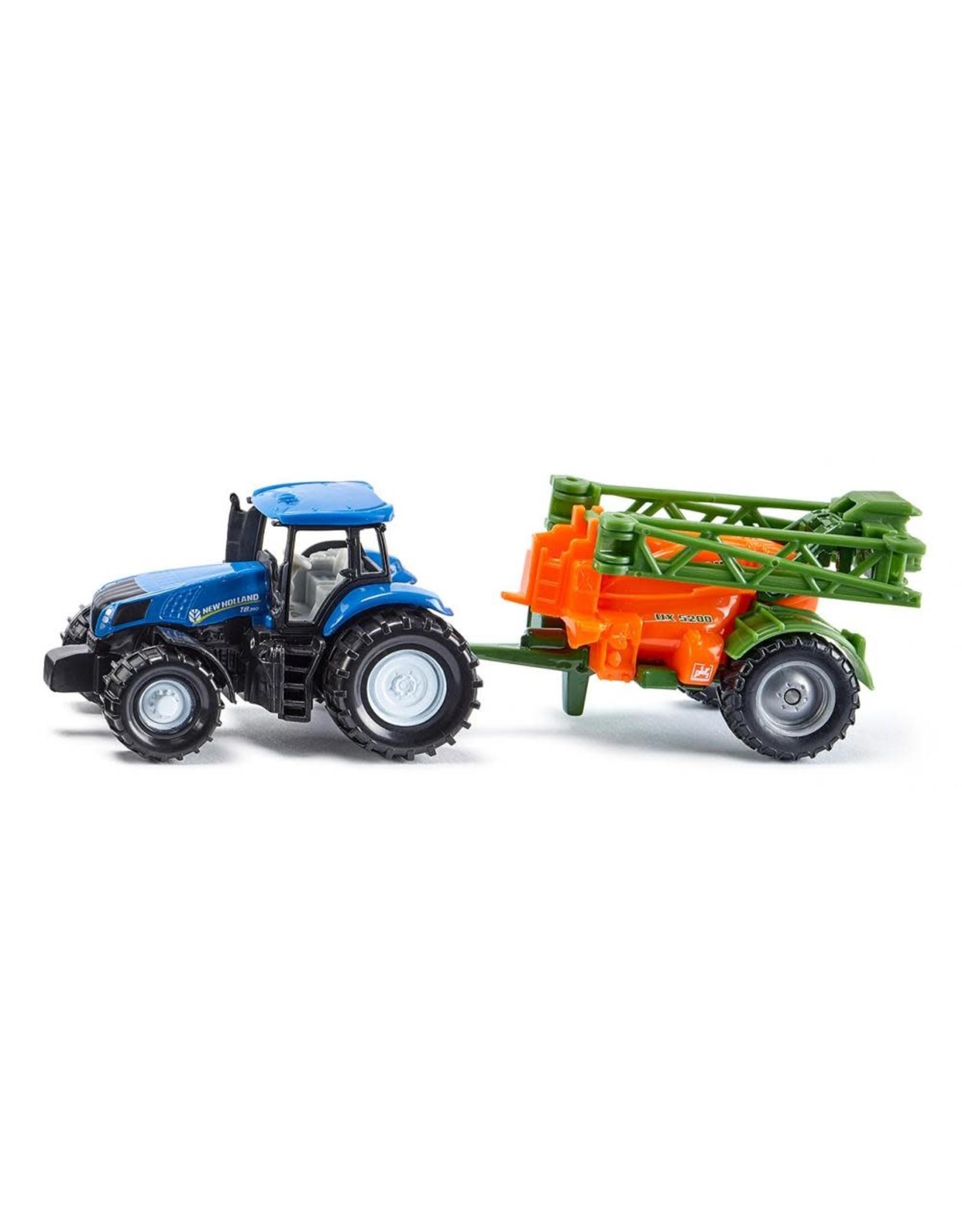 Siku Siku New Holland Tractor with Crop Sprayer