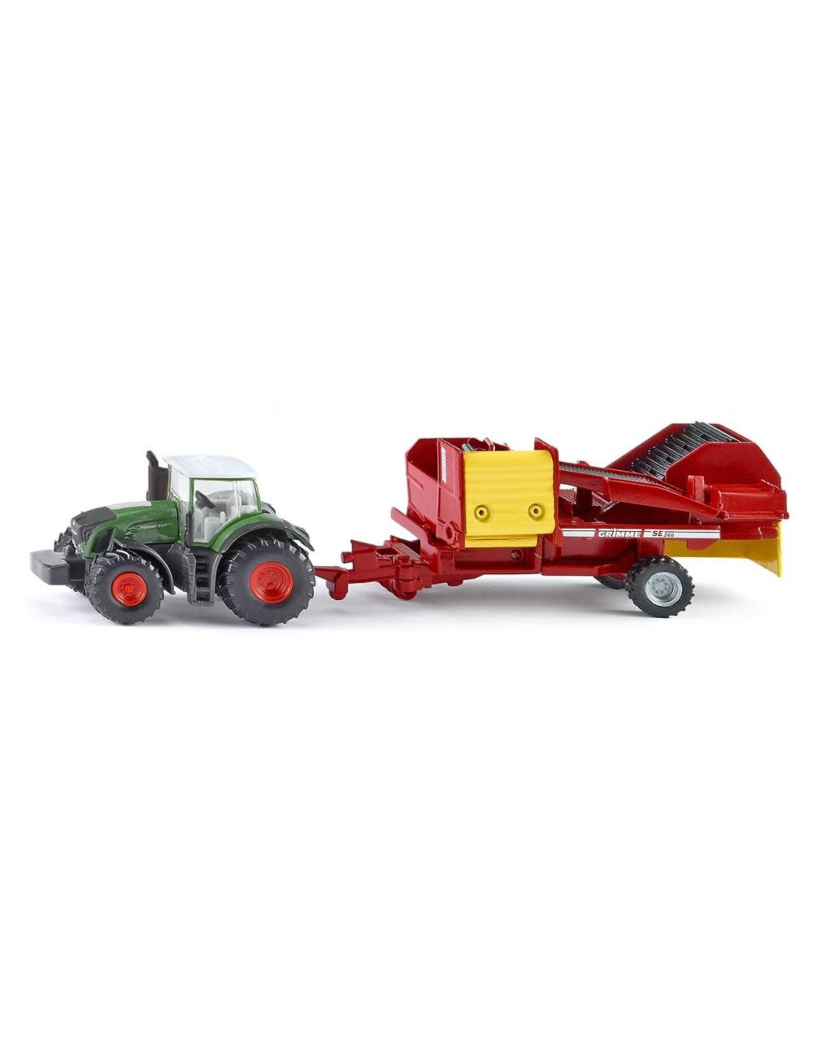 Siku Siku Tractor with Potato Harvester