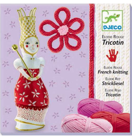 Djeco French Knitting Kit: Red Elodie