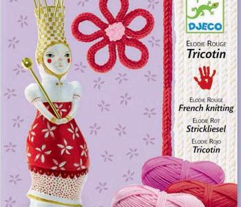 French Knitting Kit: Red Elodie