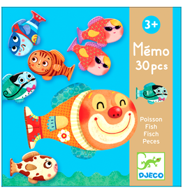 Djeco Memory Game: Memo Fish