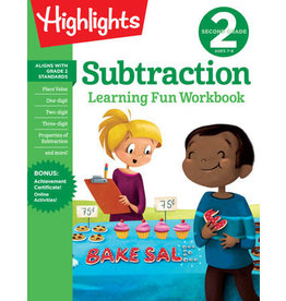 Highlights Second Grade Subtraction Workbook