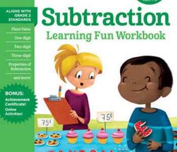 Second Grade Subtraction Workbook