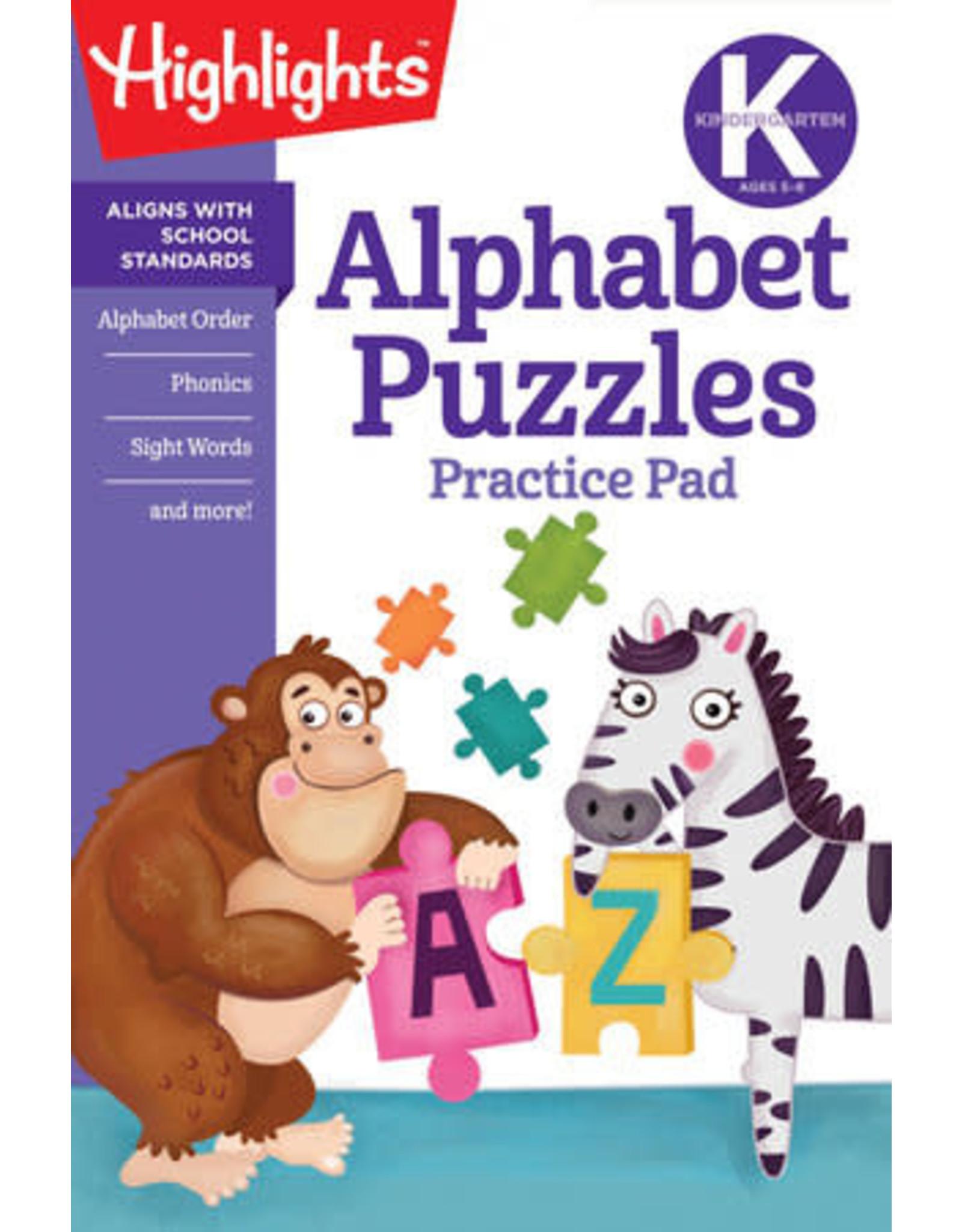 Highlights Kindergarten Alphabet Puzzles