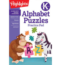 Highlights Kindergarten Alphabet Puzzles