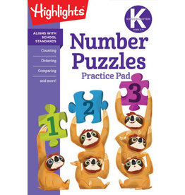 Highlights Kindergarten Number Puzzles