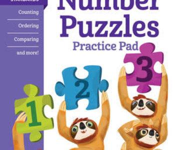 Kindergarten Number Puzzles