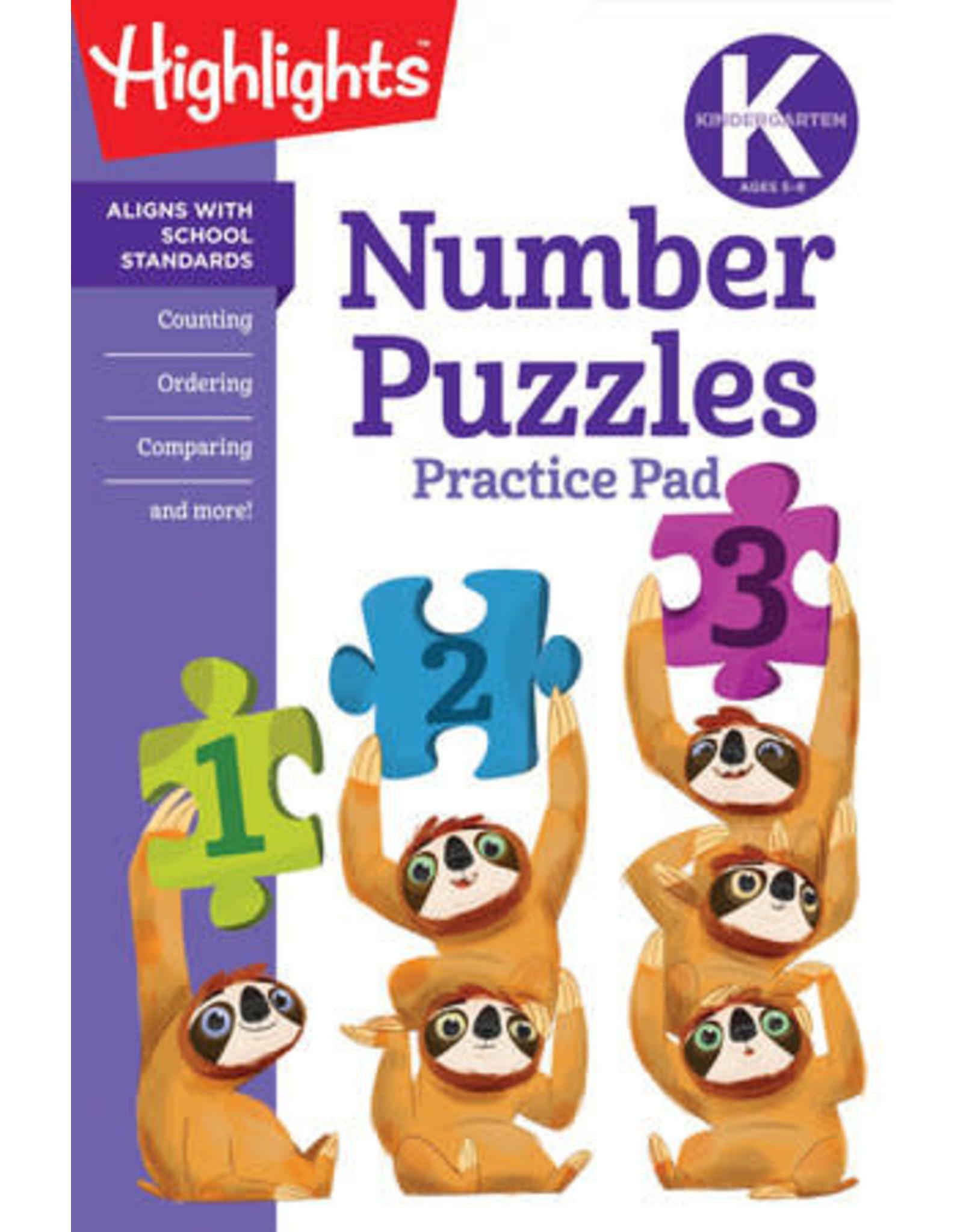 Highlights Kindergarten Number Puzzles