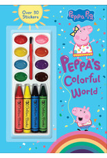 Golden Peppa's Colorful World