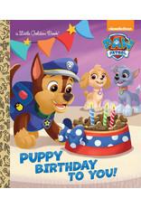 Golden Paw Patrol: Puppy Birthday To You!