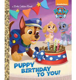 Golden Paw Patrol: Puppy Birthday To You!
