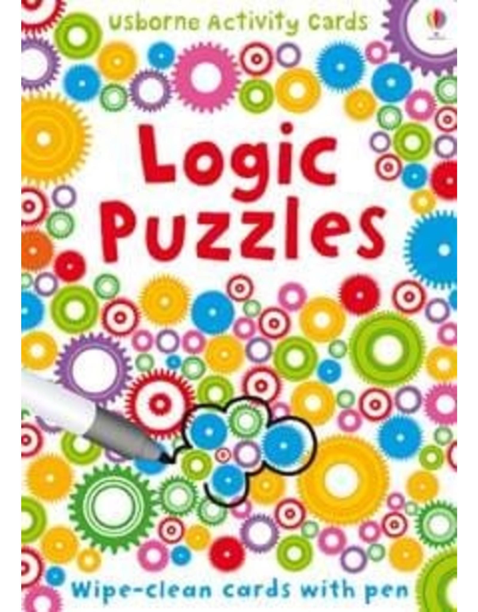 Usborne Wipe Clean Logic Puzzles