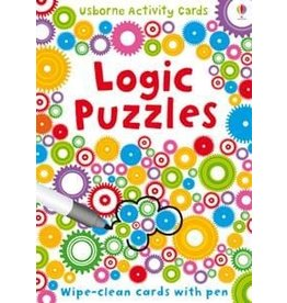 Usborne Wipe Clean Logic Puzzles