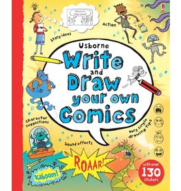 Usborne Write and Draw Your Own Comics