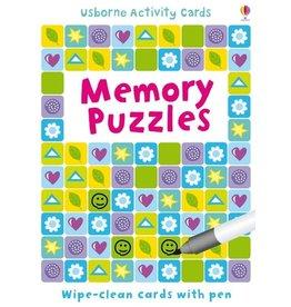 Usborne Puzzle Cards: Memory Puzzles