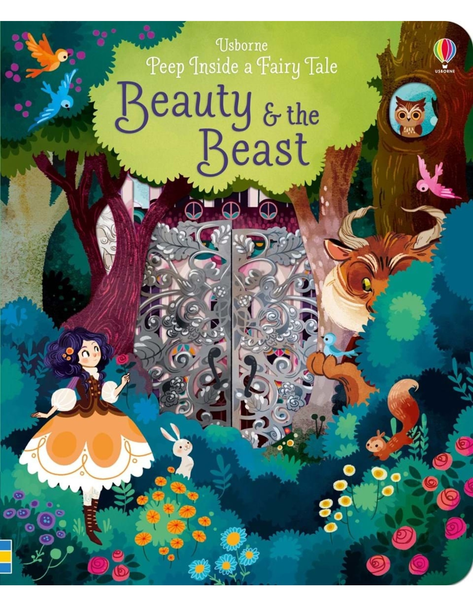 Usborne Peep Inside a Fairy Tale: Beauty and the Beast