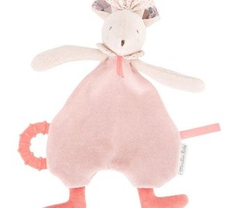 Mouse Baby Comforter Cuddle Toy