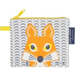 Coq en Pate Fox Purse / Zippered Pouch