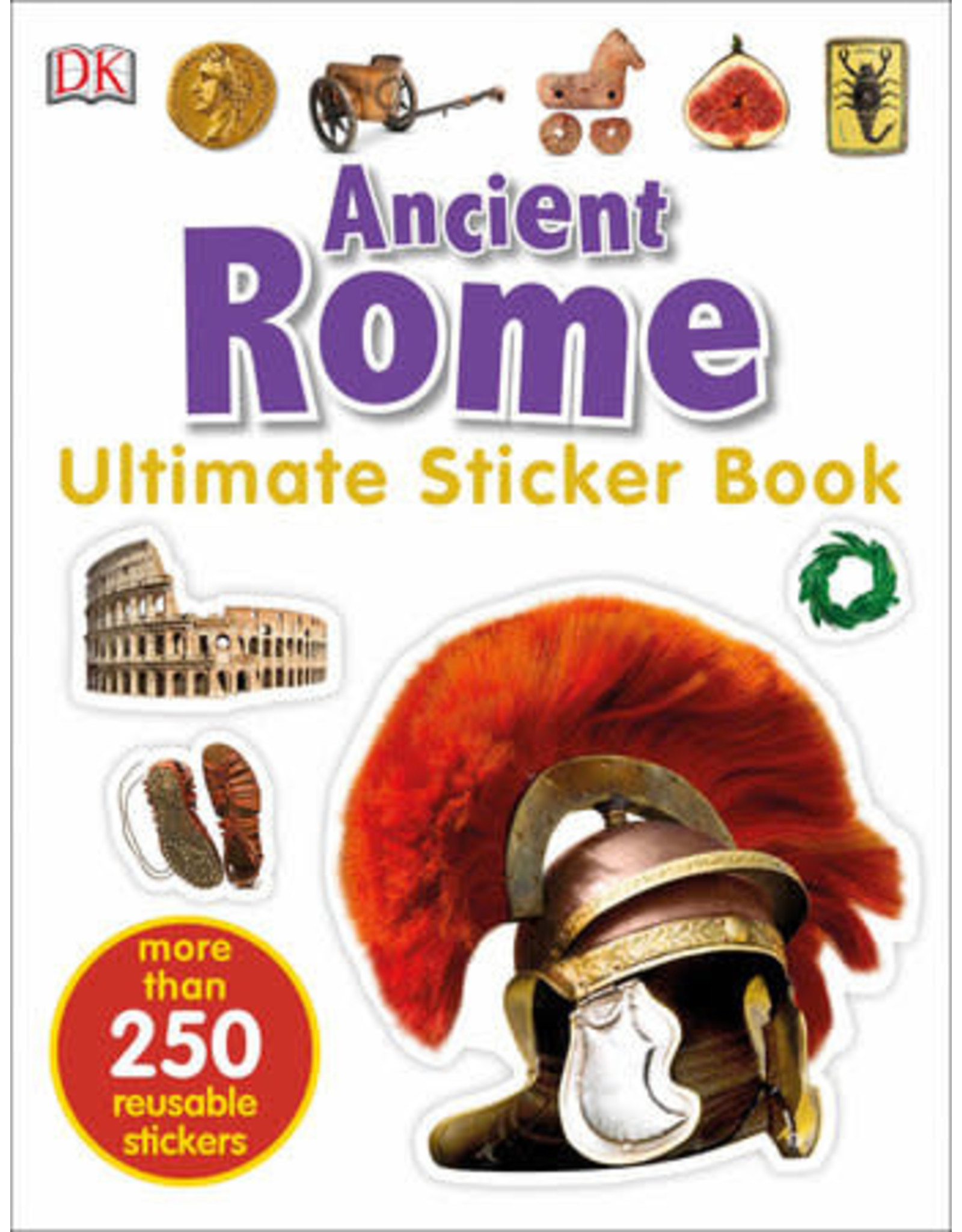 DK Ultimate Sticker Book: Ancient Rome