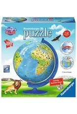 Ravensburger Children's World Globe 180pc 3D Puzzle